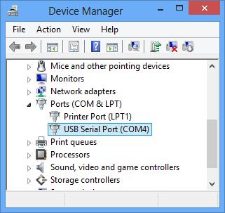 FTDI USB Serial Port